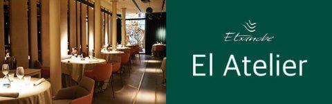 Restaurante Atelier Etxanobe en Bilbao