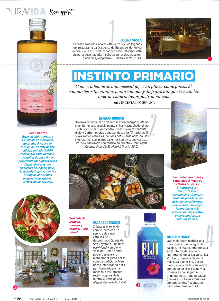 Etxanobe en Women's Health